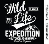 wild life expedition  outdoor...   Shutterstock .eps vector #589507013