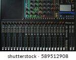 Background Of Sound Mixer...