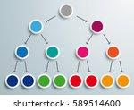 pyramid scheme on the gray... | Shutterstock .eps vector #589514600
