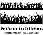 backgrounds from the crowd | Shutterstock .eps vector #589536380