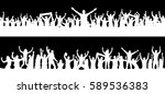 background from the crowd | Shutterstock .eps vector #589536383