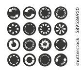 loading icon  progress... | Shutterstock .eps vector #589536920