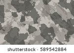 old dirty camouflage. eps 10 | Shutterstock .eps vector #589542884