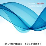 abstract blue wave   Shutterstock .eps vector #589548554