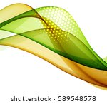 abstract multicolored waves   Shutterstock .eps vector #589548578