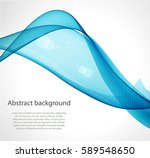 abstract blue wave   Shutterstock .eps vector #589548650