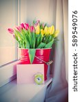 bunch of beautiful colorful... | Shutterstock . vector #589549076