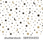 holiday background  seamless... | Shutterstock .eps vector #589554353
