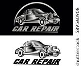 car repair team | Shutterstock .eps vector #589560908