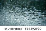 heavy shower | Shutterstock . vector #589592930