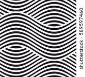 vector seamless pattern. modern ... | Shutterstock .eps vector #589597460