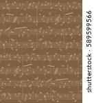 creative stave opera. beige...   Shutterstock .eps vector #589599566