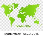 world map vector background | Shutterstock .eps vector #589612946