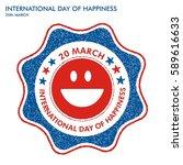 stamp for international day of... | Shutterstock .eps vector #589616633