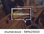 recommendation concept   Shutterstock . vector #589625033