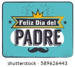 the best dad in the world  ... | Shutterstock .eps vector #589626443