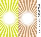 multi color sunbeams background.... | Shutterstock .eps vector #589627964