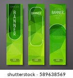 Template Vertical Banners With...