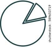 pie chart icon illustration...