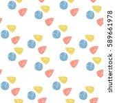 triangle  circle  geometric...   Shutterstock .eps vector #589661978