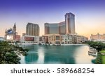 macau china   nov 24 the... | Shutterstock . vector #589668254