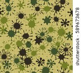 seamless pattern. multi colored ... | Shutterstock .eps vector #589673678