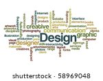 design   wordcloud | Shutterstock .eps vector #58969048