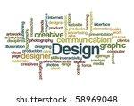 design   wordcloud   Shutterstock .eps vector #58969048