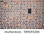 old vintage brick wall...   Shutterstock . vector #589693280