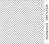 seamless polka dots pattern... | Shutterstock .eps vector #589715534