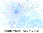 sacred geometry symbols and... | Shutterstock .eps vector #589717610