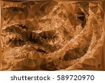 abstract multicolor mosaic... | Shutterstock .eps vector #589720970
