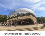 chicago  illinois  usa  ... | Shutterstock . vector #589730900
