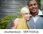 attractive and stylish... | Shutterstock . vector #589743416