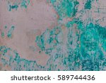 old  cement wall background | Shutterstock . vector #589744436