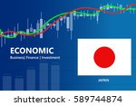 economy japan financial growth... | Shutterstock .eps vector #589744874