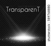 scene illumination. transparent ... | Shutterstock .eps vector #589768880