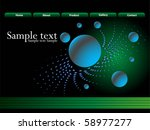 blue site background | Shutterstock .eps vector #58977277