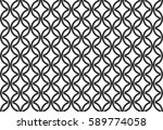 abstract chain pattern. vector... | Shutterstock .eps vector #589774058