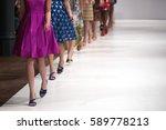 fashion show  catwalk runway... | Shutterstock . vector #589778213