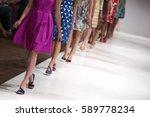 fashion show  catwalk runway... | Shutterstock . vector #589778234