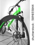 Mountain Bike Front Wheel With...