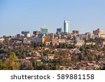 panoramic view at the city...   Shutterstock . vector #589881158