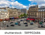 paris  france   may 25  2016  ... | Shutterstock . vector #589902686
