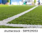Green Grass And Sport Lines...