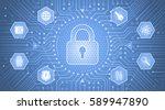cryptology concept....   Shutterstock .eps vector #589947890
