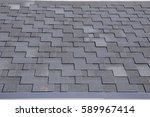 the roof shingles as a... | Shutterstock . vector #589967414
