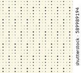 seamless minimal dots wallpaper.... | Shutterstock .eps vector #589989194