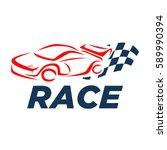 car racing logo template  ...