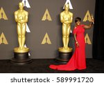 viola davis at the 89th annual... | Shutterstock . vector #589991720